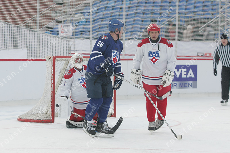Graeme Roustan at KHL All Star Game, Moscow Russia 2009