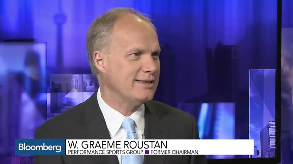 Graeme Roustan appears on Bloomberg TV