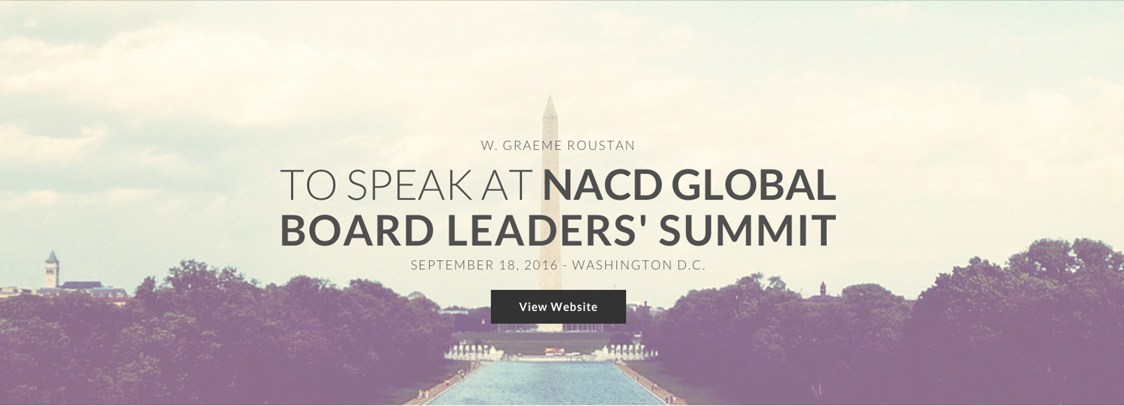 Home Page Sliders Speaker at NACD Summit