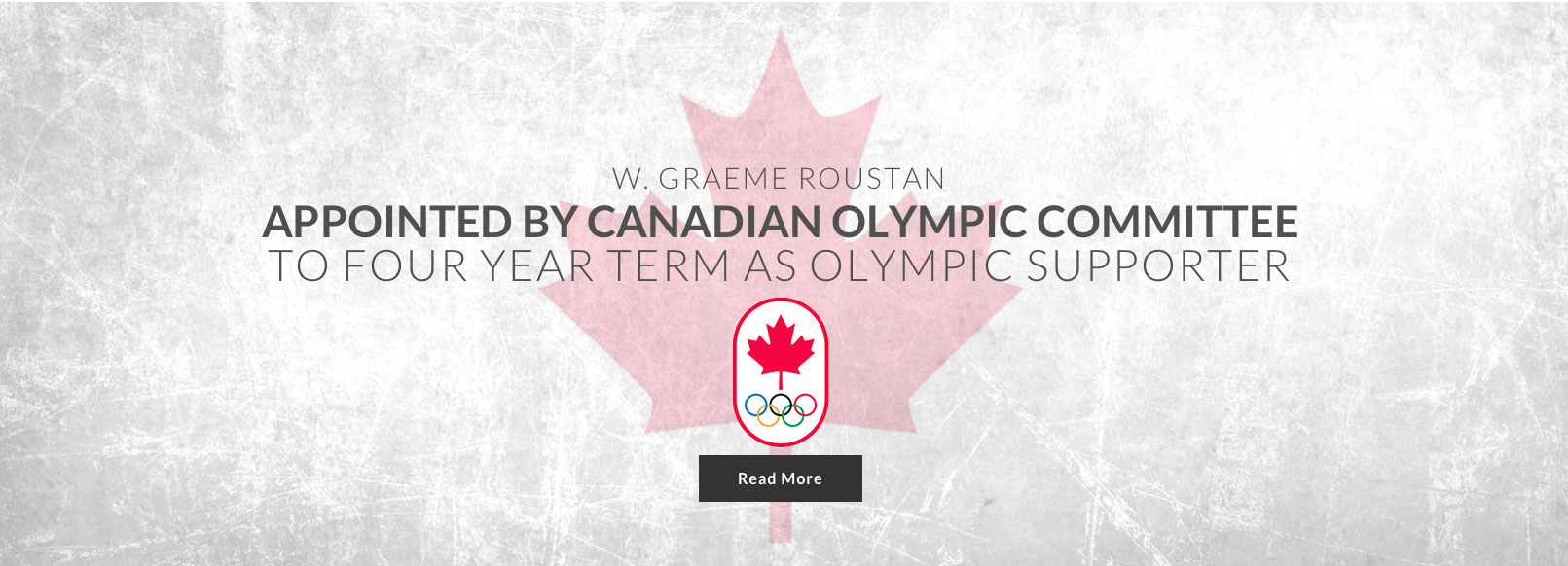 Home Page Sliders Roustan Appointed By Olympic Committee