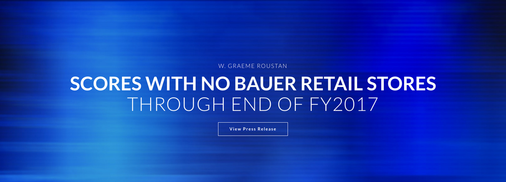Home Page Sliders No Bauer Retail Stores